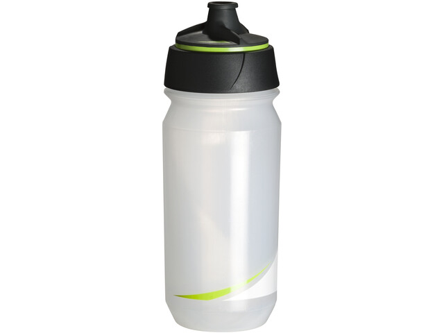 Tacx Shanti Twist Drinking Bottle 500ml, transparent/green